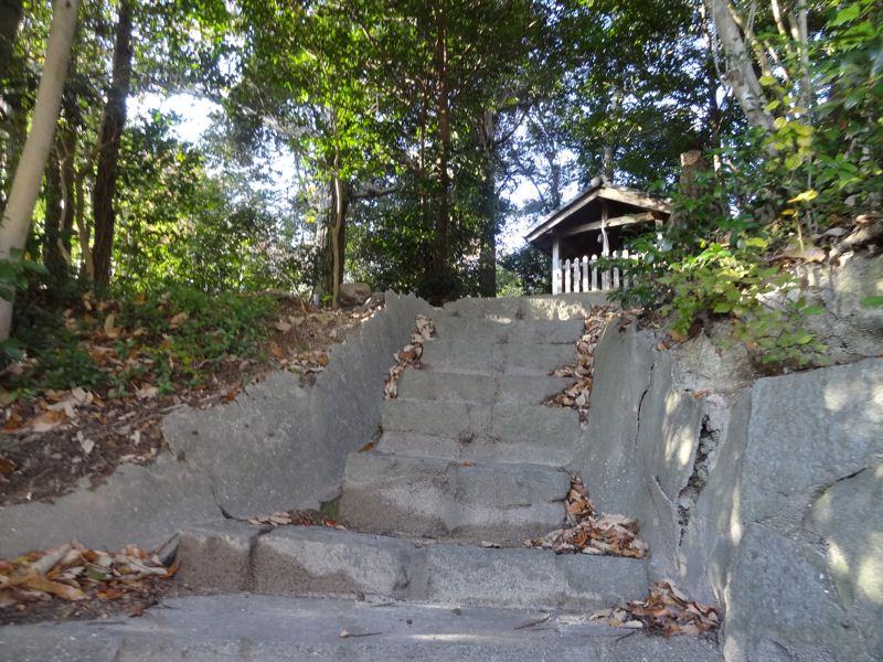 杵宮神社が見えてきました