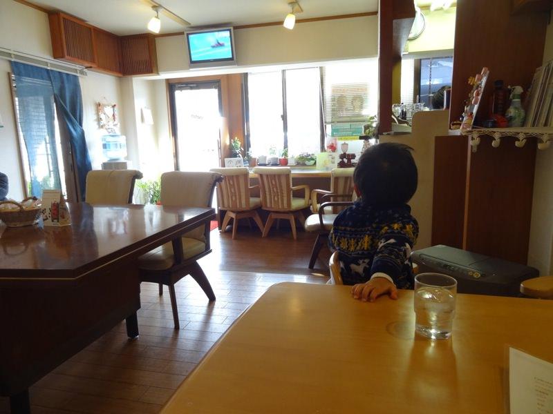 珈琲店の店内の様子