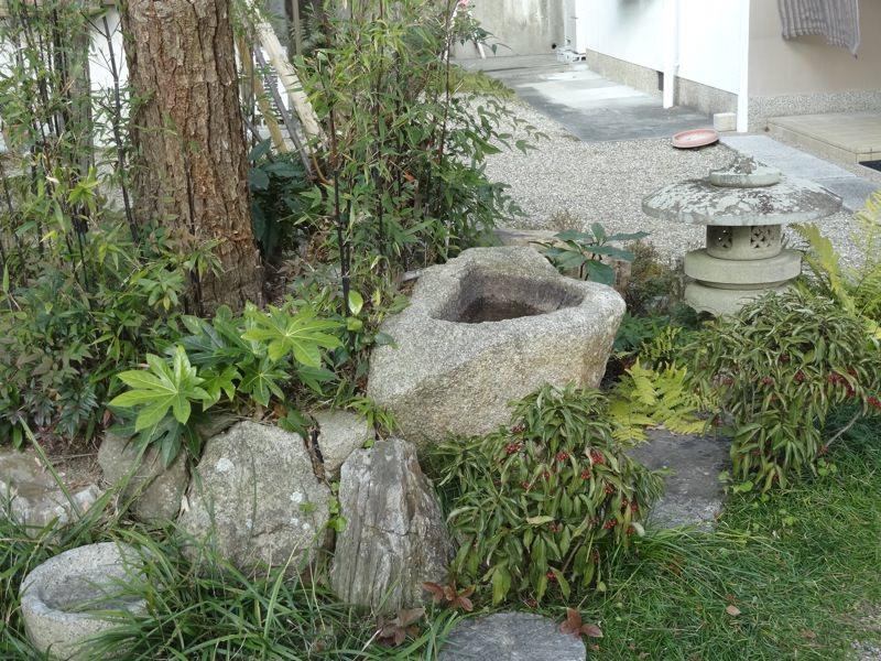 極楽寺の庭