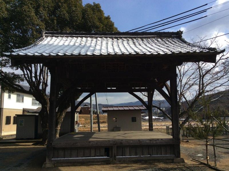 神戸市北区の農村舞台