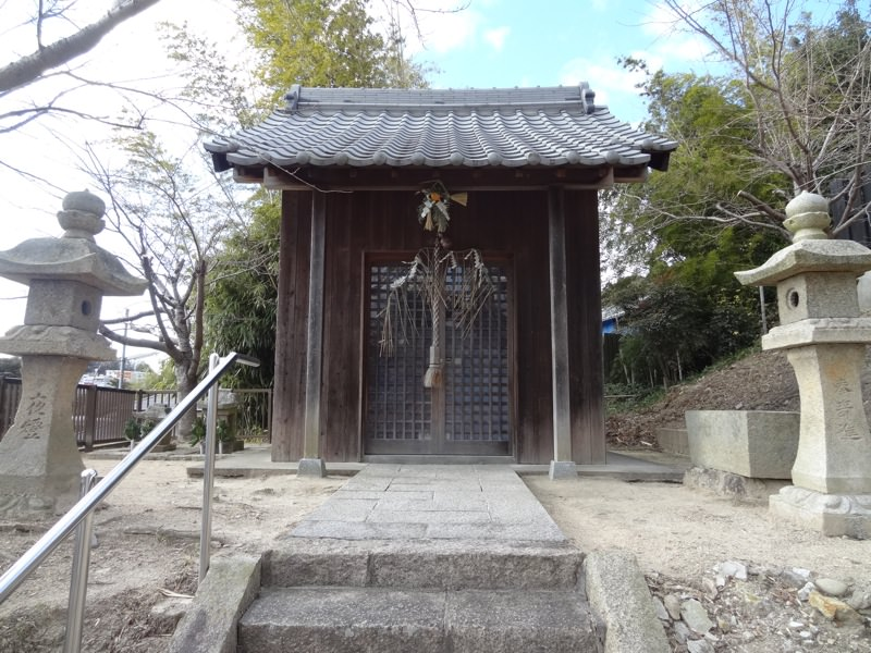 大堂八幡神社の本殿