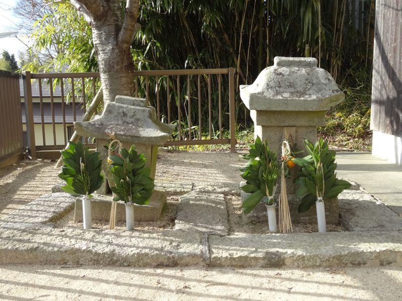 小さな門松 大堂八幡神社