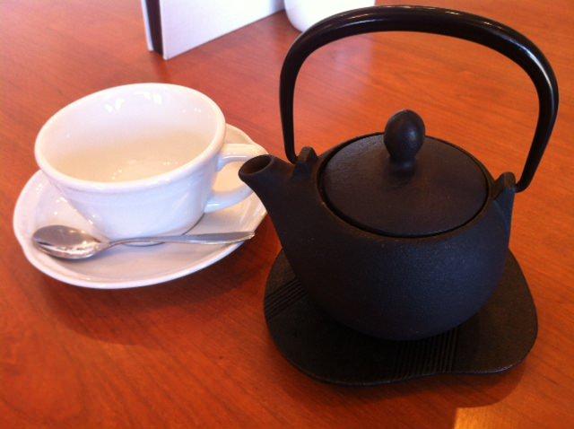 パスタンカフェ 食後の紅茶