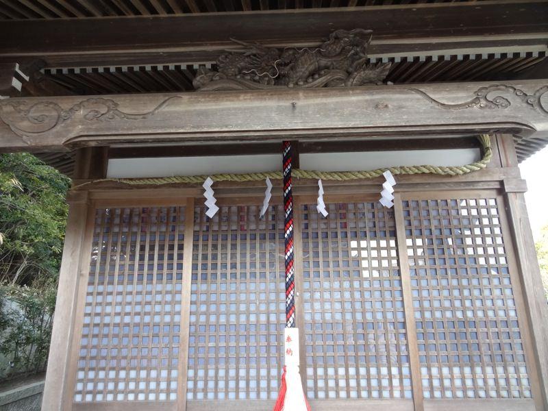 杉尾神社の本殿