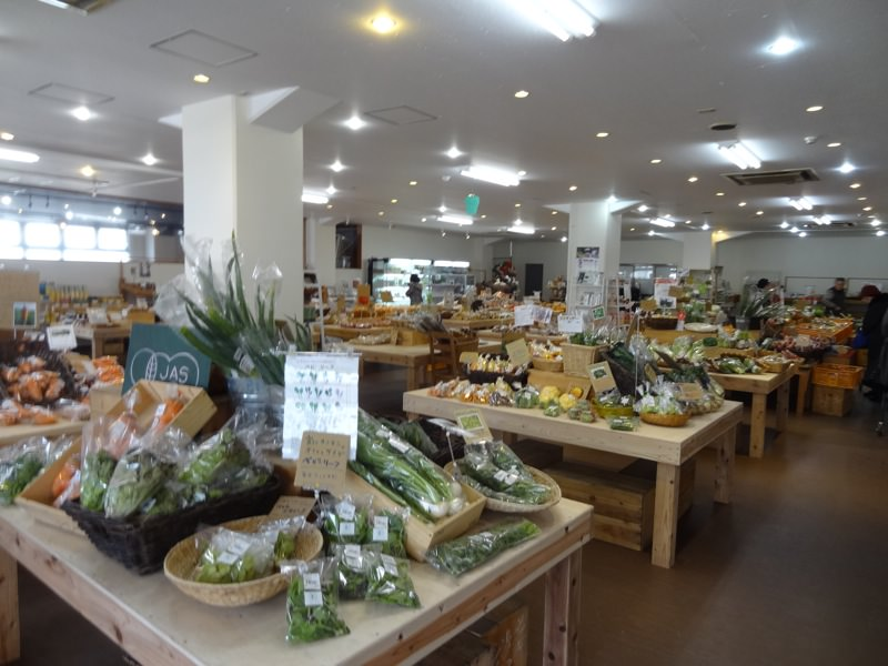 農産物直売所のはっぱやは品揃え豊富