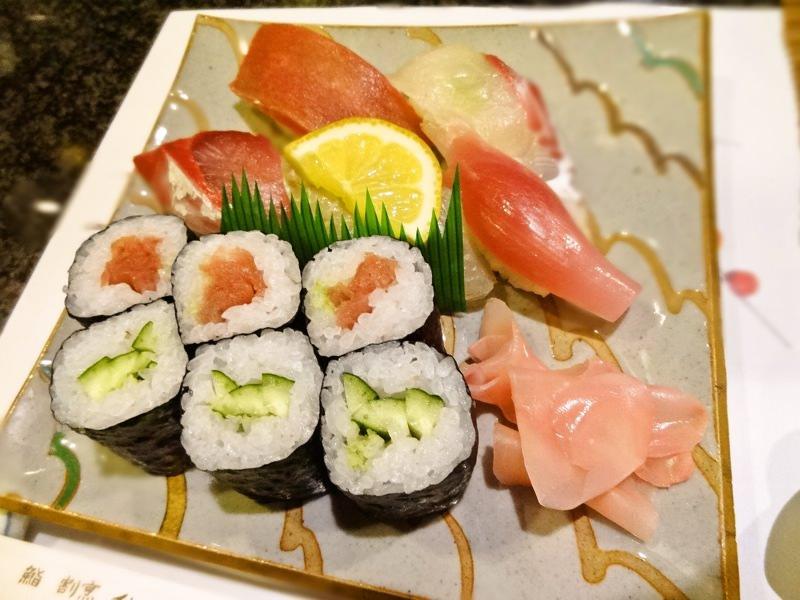 志成のお寿司
