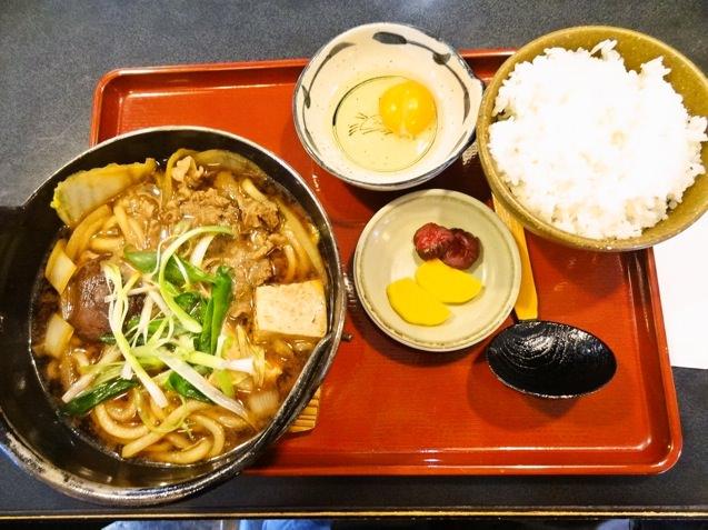 吉まん すき鍋定食(日替り)