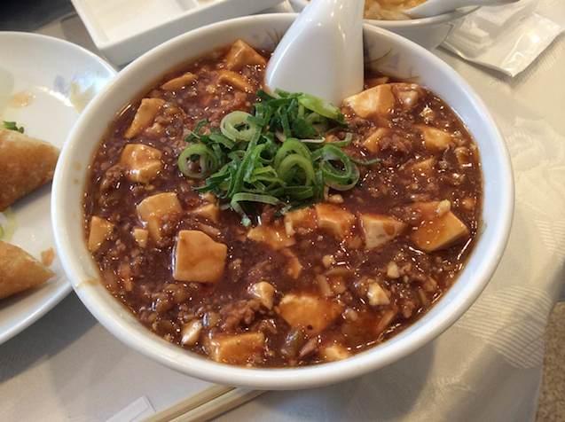 世世のマーボー豆腐定食