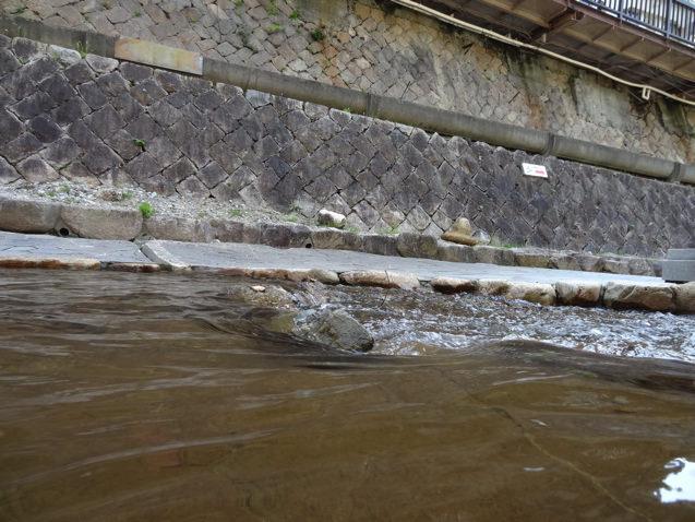 有馬温泉 太閤橋の下の川について