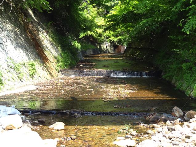 有馬温泉 太閤橋の下の川