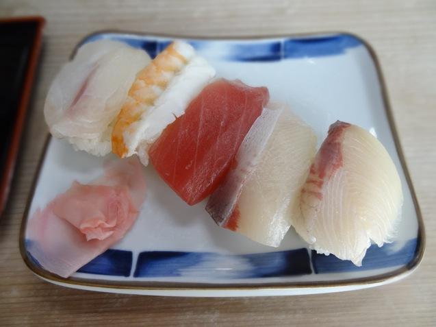 まえなかの定食 お寿司