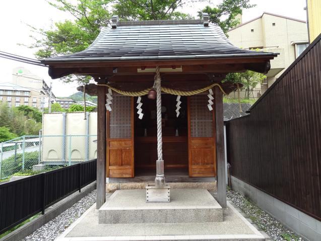 有馬温泉 雪国稲荷神社のお堂