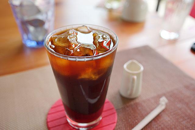 めのめ倶楽部のアイスコーヒー