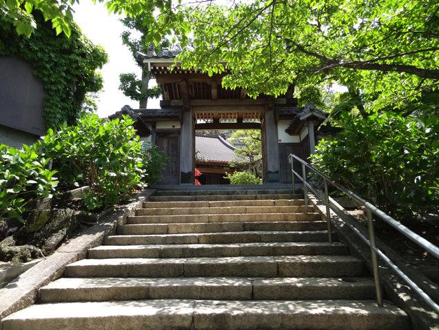 有馬温泉 林渓寺の門