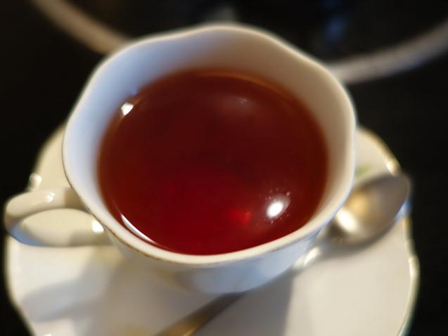 北鈴蘭台 まんよう 食後の紅茶