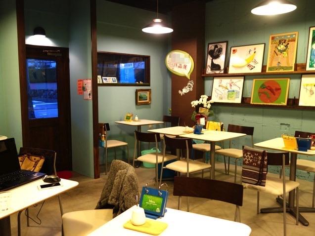 日々カフェ店内の様子