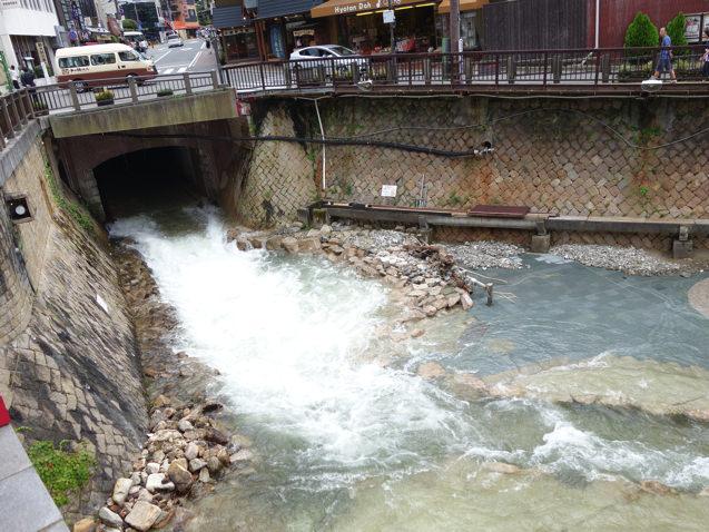 2015年7月 有馬川の氾濫