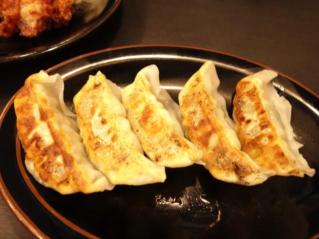 東麺房 やみつきラーメン 餃子