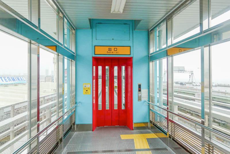 ポートターミナル駅 エレベーター