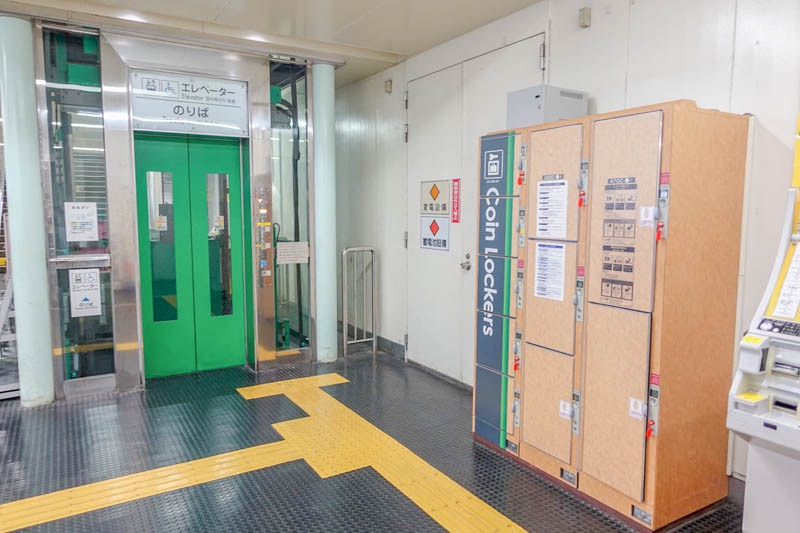 ポートライナー三宮駅   エレベーター