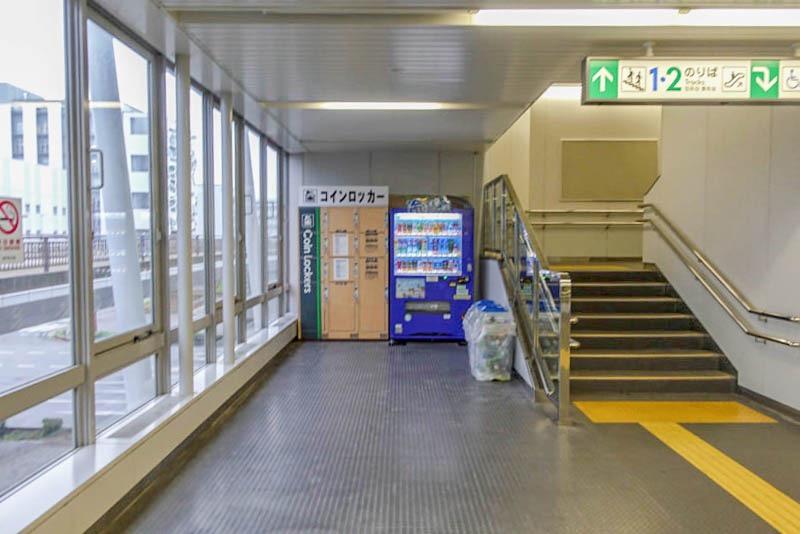 ポートライナー医療センター駅 コインロッカー