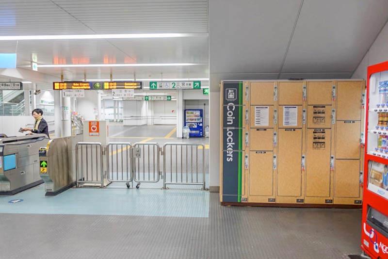 ポートライナー市民広場駅 コインロッカー